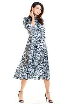 Awama - Sukienka midi B276
