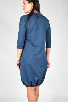 collibri - S - 4XL _ MILA _ sukienka dresowa bombka