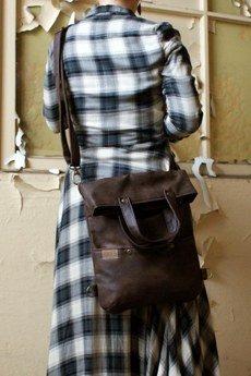 ManufakturaMMS - 3w1 plecak torba czekolada