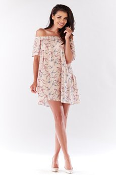 Awama - Sukienka mini B175
