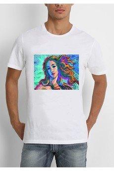 """Life is ART - T-shirt : """"  Narodziny wiosny / korol """""""