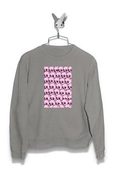 FailFake - Bluza pattern Pink Skull Damska
