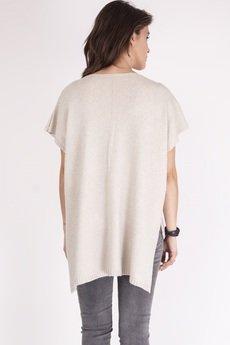 MKM swetry - ASYMETREYCZNY TOP, SWE098 MKM