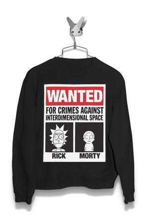 Bluza Poszukiwany Rick i Morty Damska
