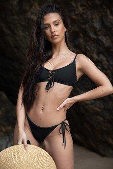 Tropiko Swimwear - TROPIKO SWIMWEAR - dół bikini FARO czarny
