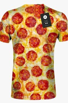 Mars from Venus - Pizza men's t-shirt