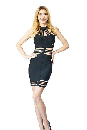 Sukienka czarna Megan