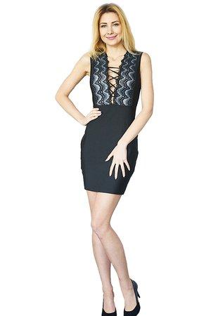 Sukienka czarna Marietta