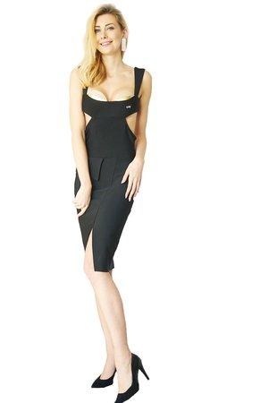 Sukienka czarna Mirella