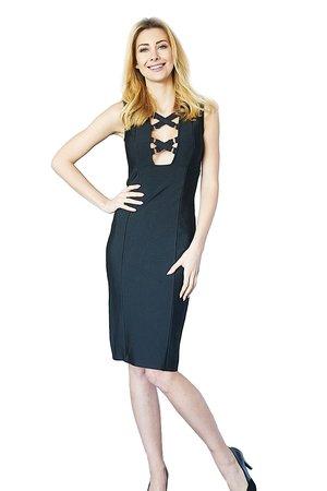 Sukienka czarna Ariel
