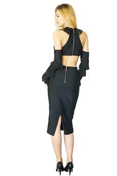 Kelly Couronne - Sukienka czarna Christine