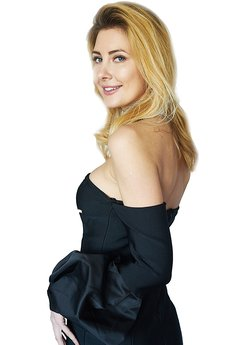 Kelly Couronne - Sukienka czarna Viviane