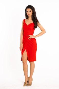 """Waisted - Sukienka """"Rozalia"""" midi - czerwona"""