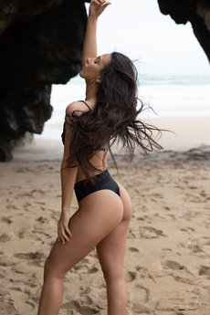 Tropiko Swimwear - TROPIKO SWIMWEAR - dół bikini SARDINIA black