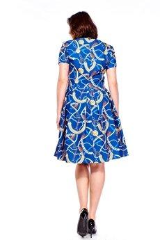Bird - Sukienka w oryginalny wzór