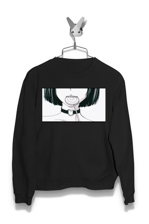 Bluza Anime Japan Girl z Lizakiem Damska