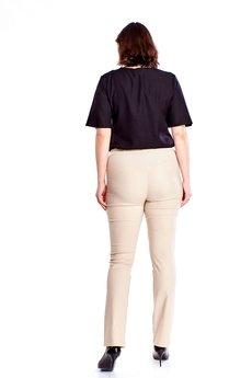 Bird - Eleganckie spodnie z podwyższonym stanem