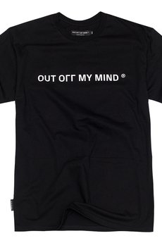OUT OГГ  MY MIND - OOMM Tee Black