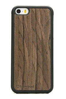 bewood - Drewniane Etui Apple iPhone 5/5s/SE ORZECH CIEMNY