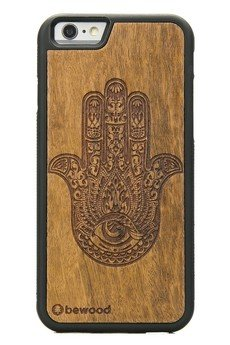 bewood - Drewniane Etui Apple iPhone 6/6s HAMSA IMBUIA
