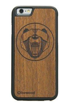bewood - Drewniane Etui Apple iPhone 6/6s NIEDŹWIEDŹ MERBAU