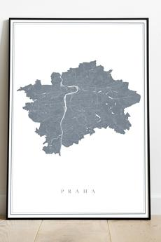 maps by P - Praga / Czechy