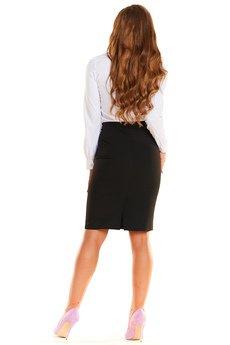Awama - Spódnica N008 czarny