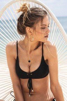 Tropiko Swimwear - TROPIKO SWIMWEAR - góra bikini AMADO black