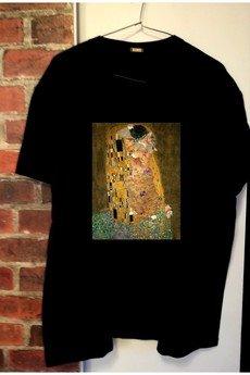 """Life is ART - T-shirt : """"  Pocałunek i kot""""."""