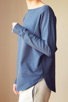 ONE MUG A DAY - Lekka bluza kimonocięta jeans