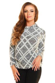 Awama - Sweter N036 grafit