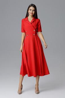 FIGL - Sukienka M632 Czerwony