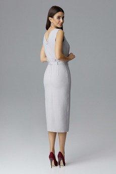 FIGL - Sukienka633 Szary