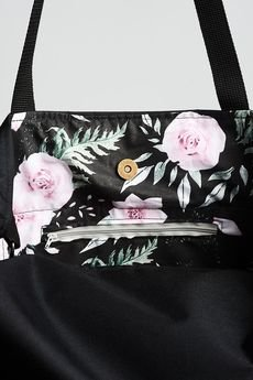 drops - torba black black flowers
