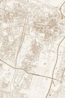 maps by P - Poznań