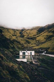 "BITE OF ICELAND / by Adam Biernat - FOTOGRAFIA KOLEKCJONERSKA ""SELJAVALLALAUG"""