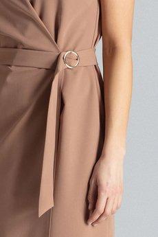 Bird - Asymetryczna sukienka z koronkowym wzorem