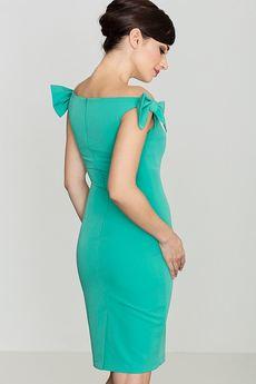 LENITIF - Sukienka K028 Zielony