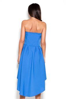 LENITIF - Sukienka K031 Niebieski
