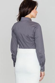 LENITIF - Koszula K033 Szary