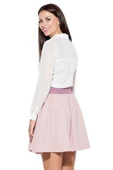 KATRUS - Spódnica K056 Róż