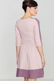 LENITIF - Sukienka K057 Róż