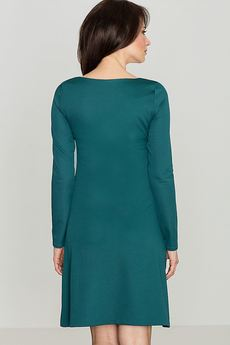 LENITIF - Sukienka K078 Zielony
