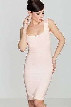 LENITIF - Sukienka K081 Róż