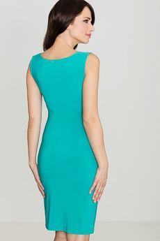 LENITIF - Sukienka K081 Zielony