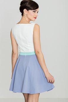 LENITIF - Sukienka K083 Fiolet
