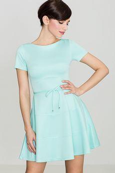 LENITIF - Sukienka K090 Mięta