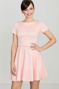 LENITIF - Sukienka K090 Róż