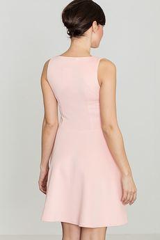 LENITIF - Sukienka K098 Róż