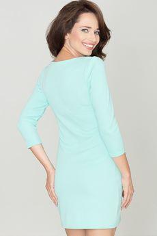 KATRUS - Sukienka K104 Mięta